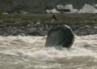 Raft flips make for good action