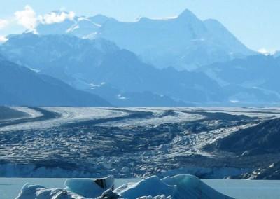 Glacier View along the Alsek River